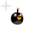 Black Angry Bird.ani Preview