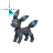 Shiny Umbreon - Working in Background.ani Preview