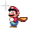 Mario Running Cape Loading.ani Preview