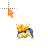 Cyndaquil - Flames.ani Preview
