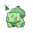 Bulbasaur - X & Y Shiny.ani Preview