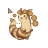 Furret - Working in Background.ani Preview
