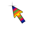 Rainbow Cursor Normal Select.ani HD version