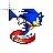 true blue sonic.ani Preview