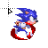 sonic the hedge hog.ani Preview