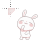 pastel dancing bunny.ani Preview