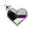 Demisexual Heart Vertical Resize.ani Preview
