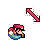 Mario Diagonal Resize 1.ani Preview