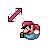 Super Mario Diagonal Resize 2.ani Preview