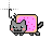 nyan cat animacion brillo 1 cursor.ani Preview