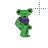 green-bear-dance.ani Preview