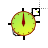 -hot-tortuse_clock.ani Preview
