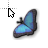 BlueButterflys.ani Preview