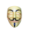 Guy Fawkes Laughing .ani Preview