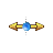 Gold Orb_moving_horizontal.ani Preview