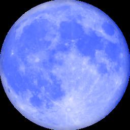 Blue Moon Icon