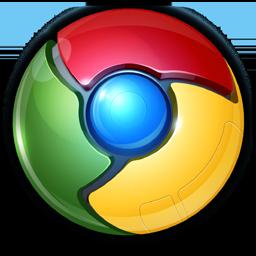 Google Chrome 3D Icon Icon