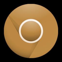 Brown Google Chrome Icon