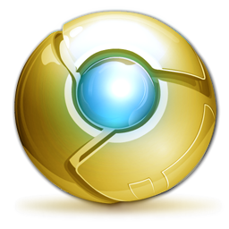 Golden Chrome Icon Deluxe Edition Icon
