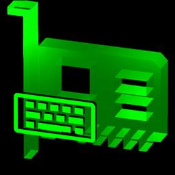 Cyberpunk Green Keyboard Config Icon