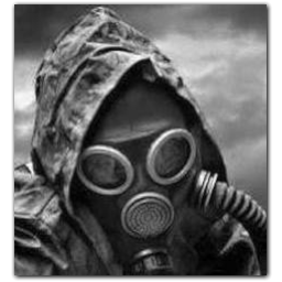 Gas Mask Soldier Icon