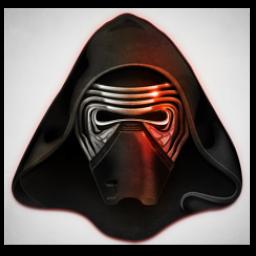 Kylo Ren Mask Icon