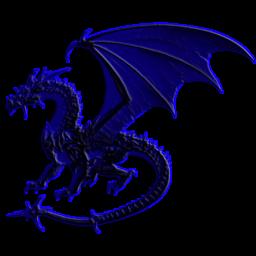 Blue Dragon Icon Icon