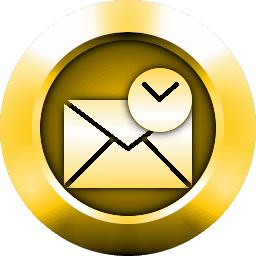 Gold Outlook Icon