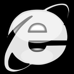 White Internet Icon Png
