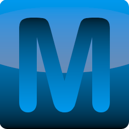 Blue App Style M Icon