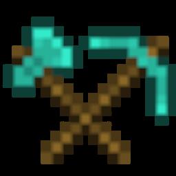 Diamond Axe & Pickaxe Icon