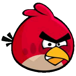 The Red Angry Bird Icon