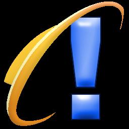 Internet Explorer Exclamation Mark Icon