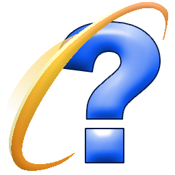 Internet Explorer Question Mark Icon