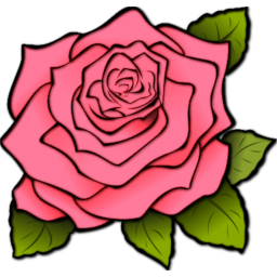 Rose Ltpink Icon