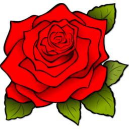 Rose Red Icon