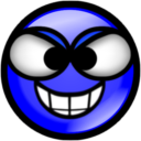 Sinister-Blue Icon