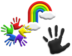 Rainbow Hands Teaser