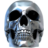 Silver Skull.ico Preview