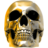 Gold Skull.ico Preview