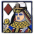Navy Queen of Diamonds.ico Preview