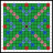 Scrabble Board 15x15 Squares - Green.ico Preview