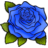 Rose-BlueR.ico Preview