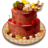 Chocolate Fruity Nuts Cake.ico Preview