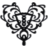 Heart Filigree - Black.ico Preview