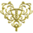 Heart Filigree - Gold.ico Preview
