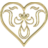 Heart Drape - Gold.ico Preview