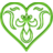 Heart Drape - Green.ico Preview