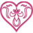 Heart Drape - Pink.ico Preview