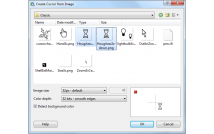 Convert images to animated cursor.